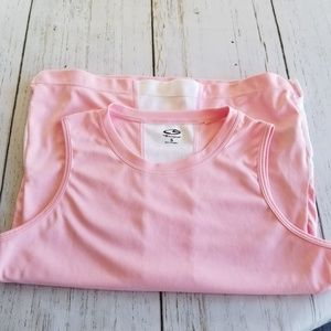 Champion Tops - Champion Pink Sleeveless Athletic Top Small